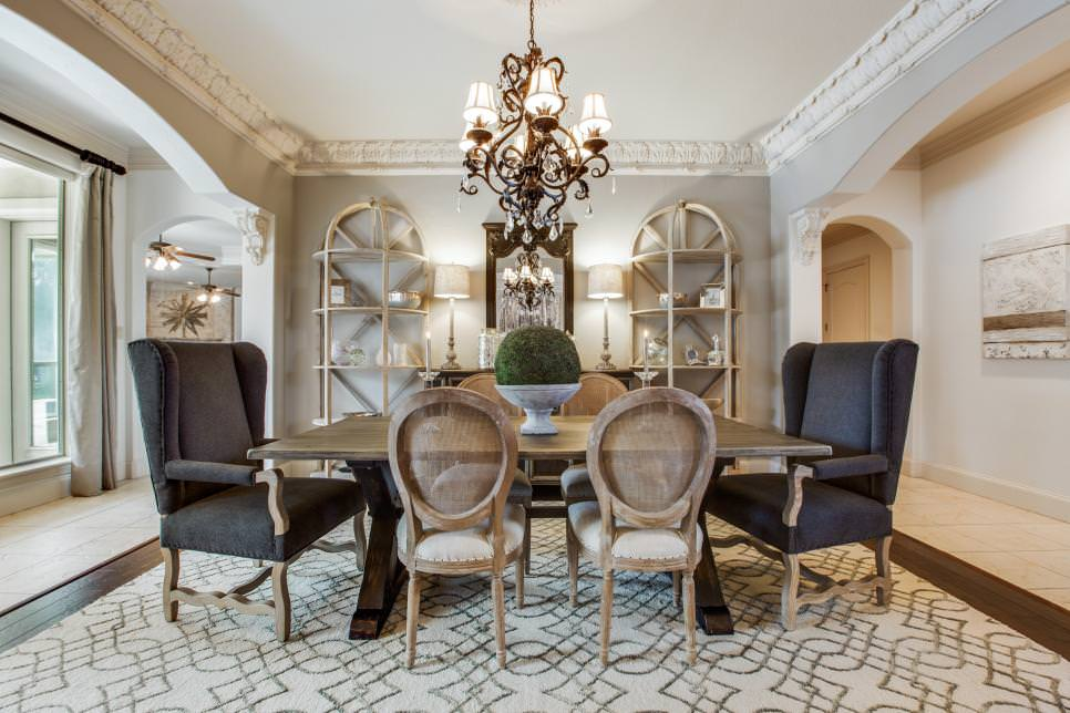 23 French Country Dining Room Designs Decorating Ideas