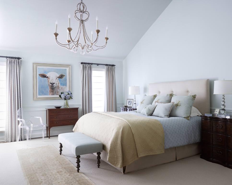 26+ Bedroom Chandeliers Designs, Decorating Ideas