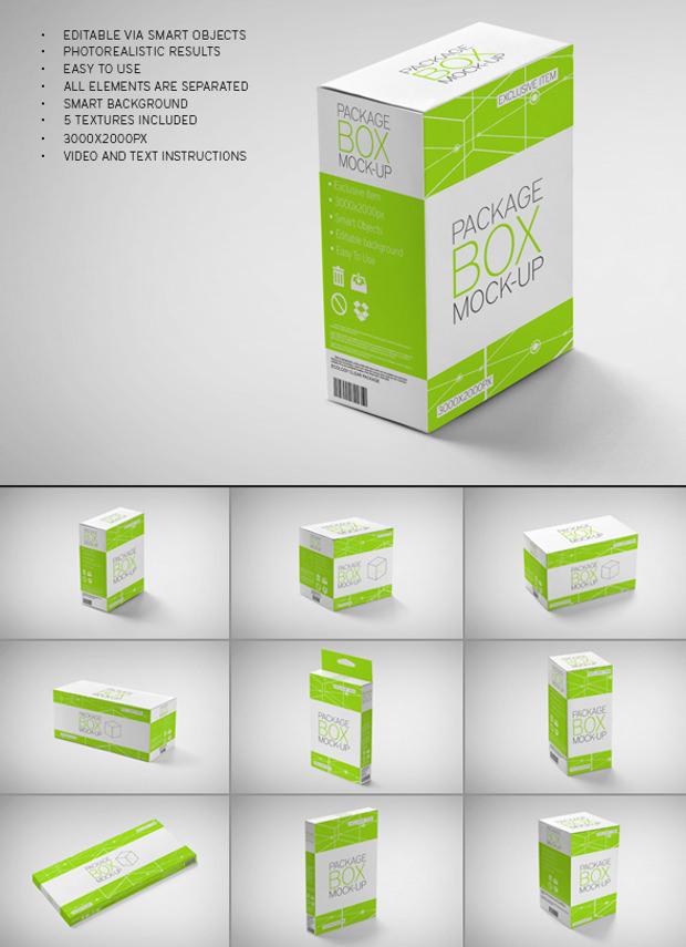 Download 18+ Package Mockups, PSD Download | Design Trends ...