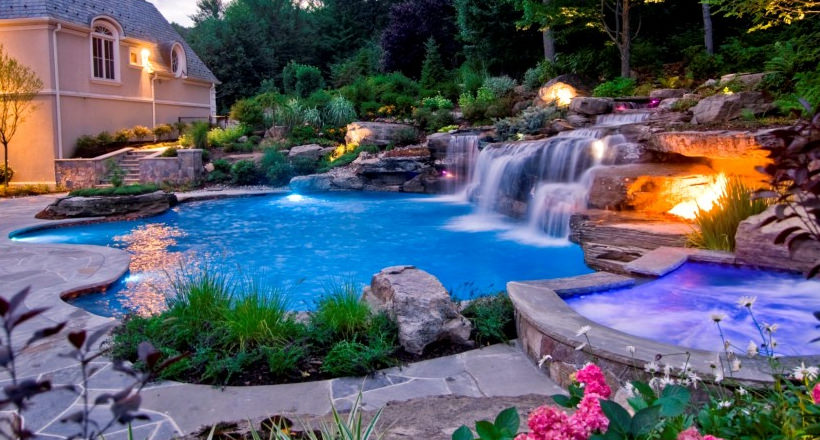 20+ Backyard Pool Designs, Decorating Ideas   Design ... on Backyard Pool Decor Ideas id=73467