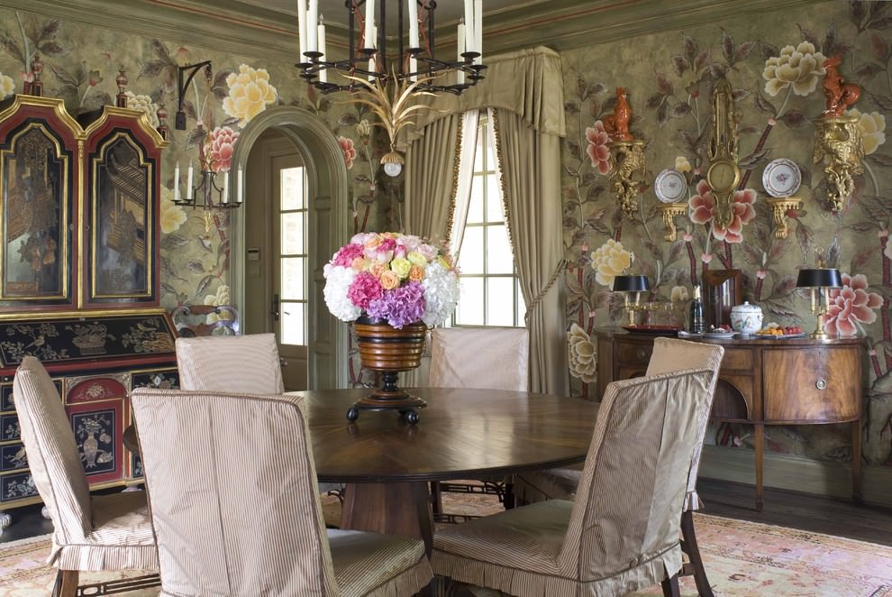 23+ Floral Wallpaper Designs, Decor Ideas
