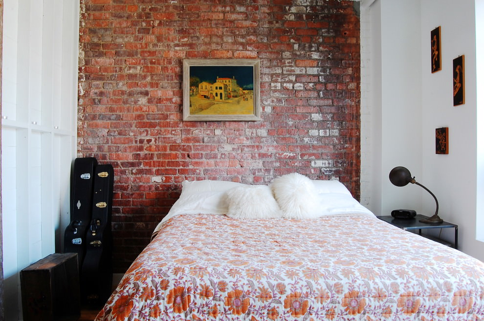 23+ Brick Wall Designs, Decor Ideas for Bedroom | Design ... on Brick Wall Decorating Ideas  id=19491