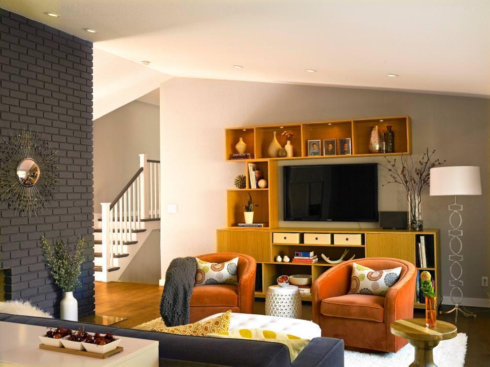 25+ Brick Wall Designs, Decor Ideas For Living Room ... on Brick Wall Decorating Ideas  id=99987