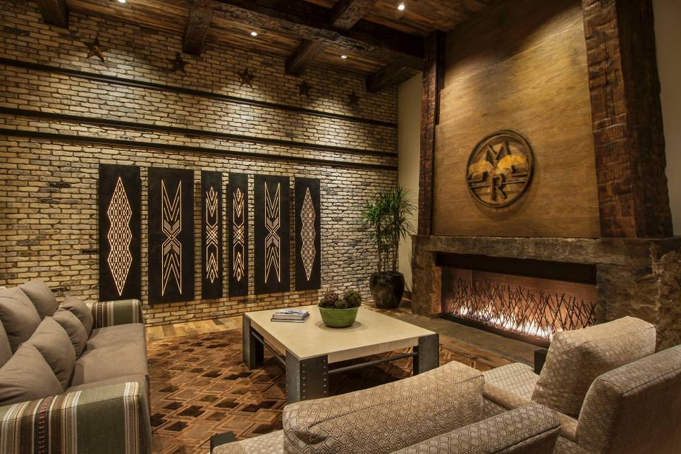 25+ Brick Wall Designs, Decor Ideas For Living Room ... on Brick Wall Decorating Ideas  id=53579