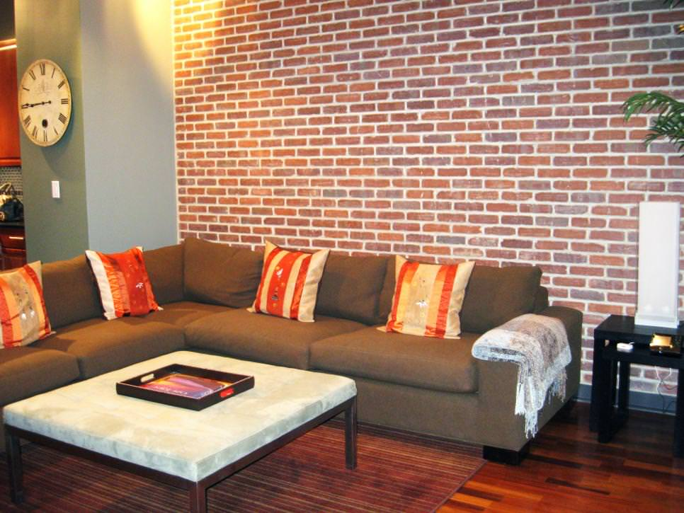 Living Room Design Ideas Exposed Brick