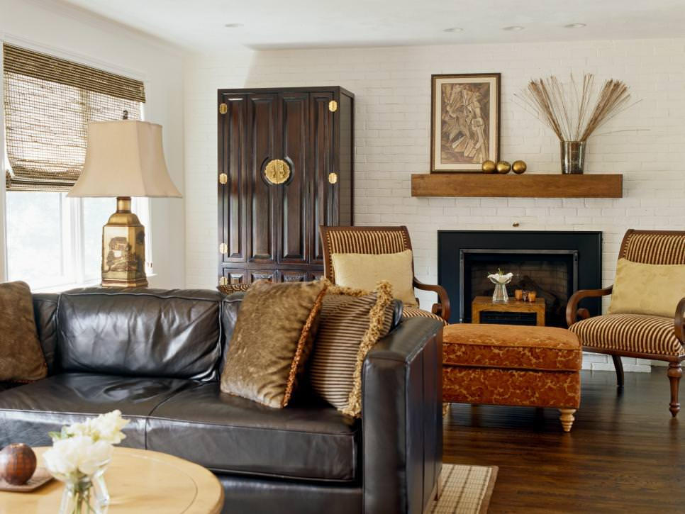 25+ Brick Wall Designs, Decor Ideas For Living Room ... on Decorative Wall Sconces For Living Room Ideas id=99067