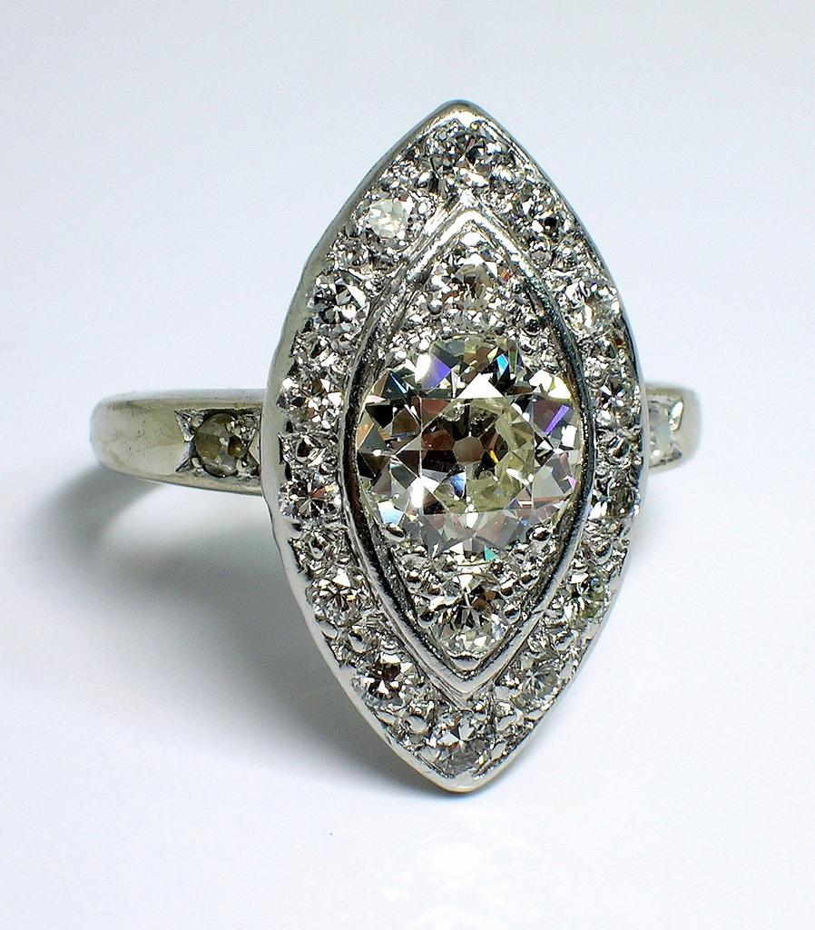 30 Antique Diamond Ring Designs Trends Models Design