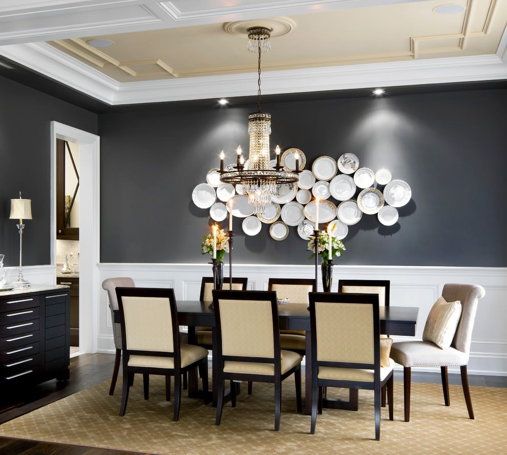 29+ Wall Decor Designs, Ideas for Dining room | Design ... on Pictures For Room Decor  id=89305