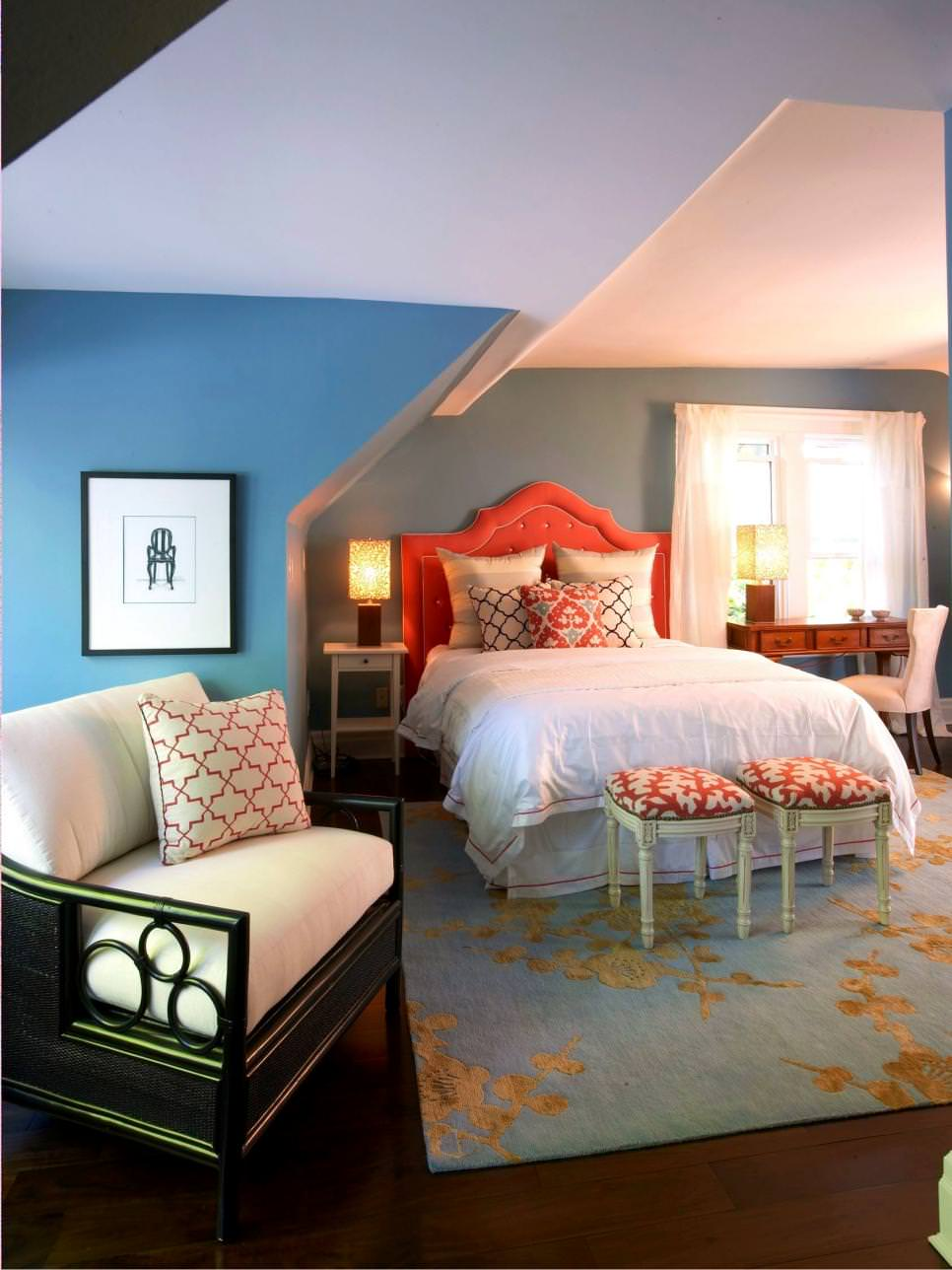 23+ Decorated Attic Home Designs, Decorating Ideas ... on Teenage:rfnoincytf8= Room Designs  id=39296