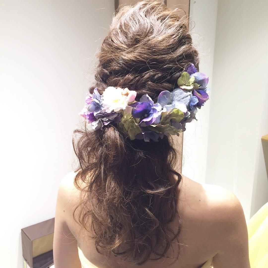 30 Half Up Half Down Wedding Hair Style Hairstyles
