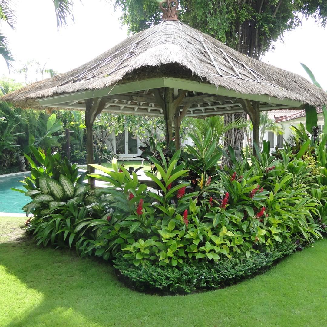 24+ Tropical Garden Designs, Decorating Ideas | Design ... on Tropical Small Backyard Ideas id=81968