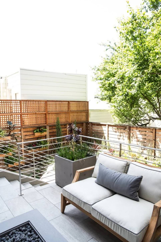 23+ Simple Patio Designs, Decorating Ideas | Design Trends ... on Outdoor Deck Patio Ideas id=51777
