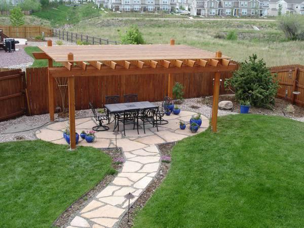 26+ Outdoor Patio Designs, Decorating Ideas   Design ... on Custom Backyard Designs id=15201