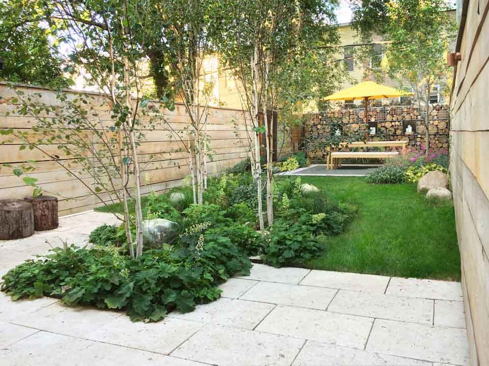 24+ Townhouse Garden Designs, Decorating Ideas   Design ... on Townhouse Patio Ideas id=44678