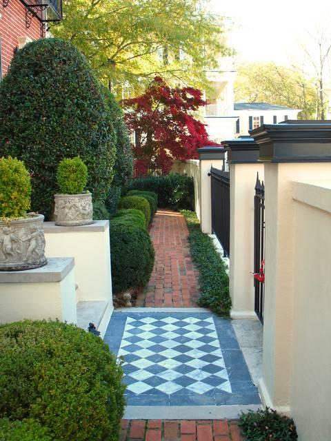 24+ Townhouse Garden Designs, Decorating Ideas   Design ... on Townhouse Patio Ideas id=63803