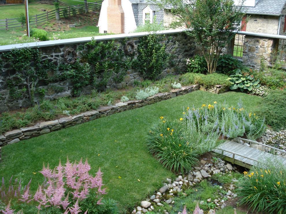 24+ Rock Wall Garden Designs, Decorating Ideas   Design ... on Backyard Rocks  id=77971