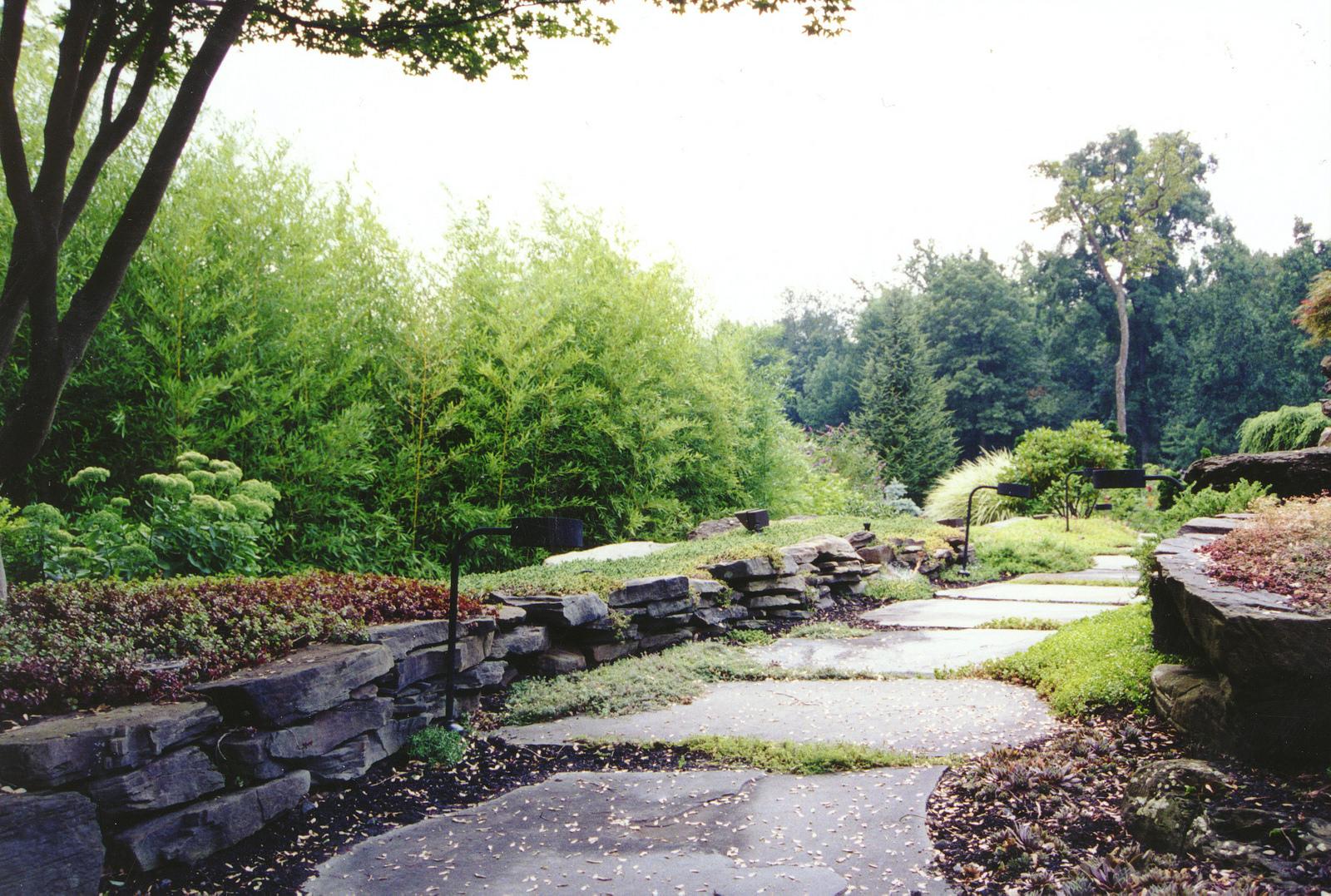 24+ Rock Wall Garden Designs, Decorating Ideas   Design ... on Backyard Rocks  id=55874