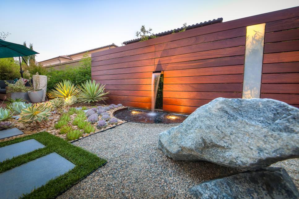 24+ Rock Wall Garden Designs, Decorating Ideas | Design ... on Rock Decorating Ideas  id=40605