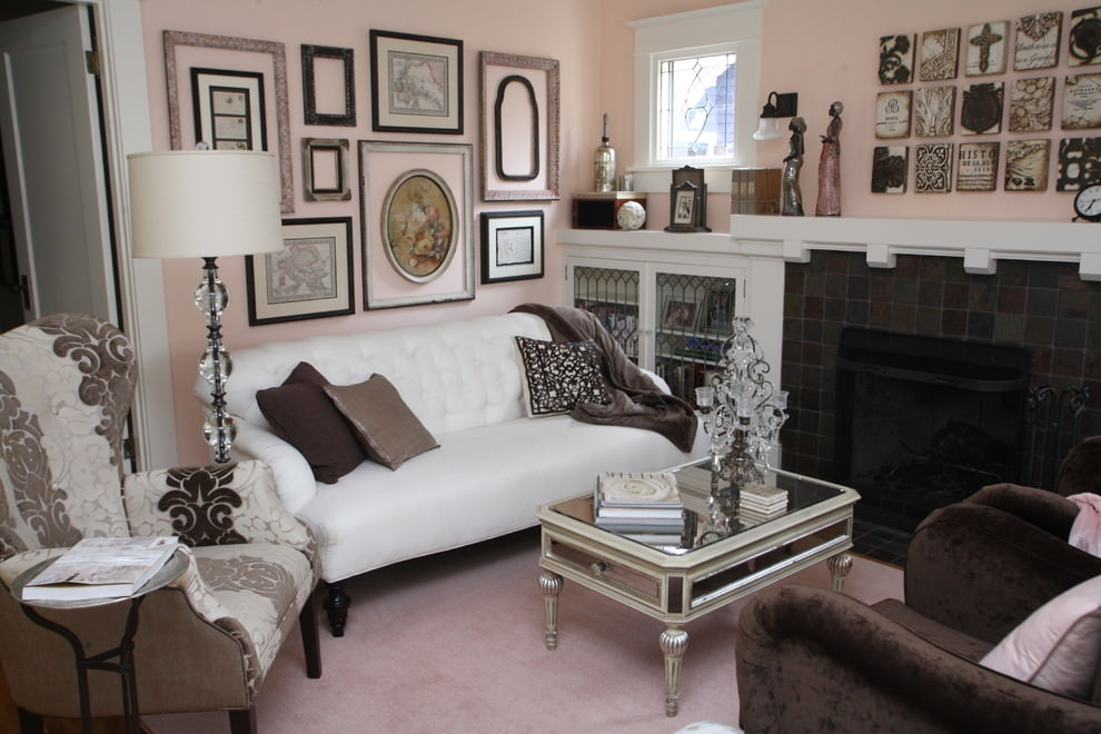 20 Pink Living Room Designs Decorating Ideas Design