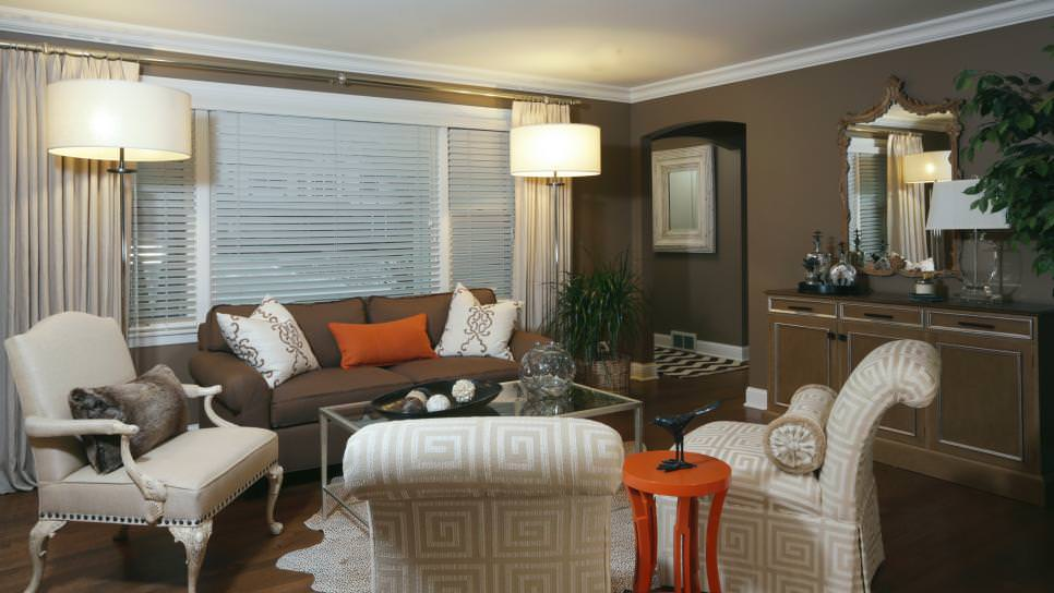 23 Brown Living Room Designs Decorating Ideas Design