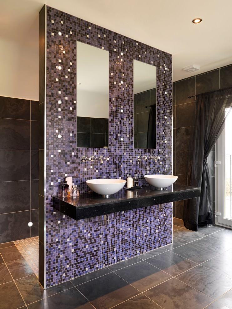 23 Purple Bathroom Designs Decorating Ideas Design