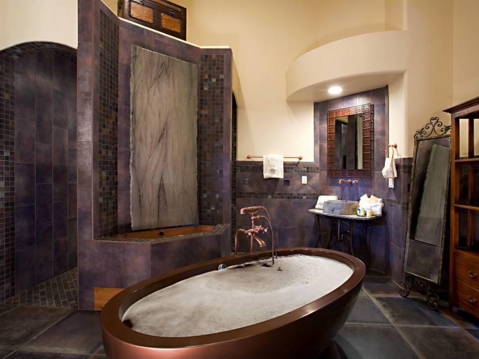 23+ Purple Bathroom Designs, Decorating Ideas