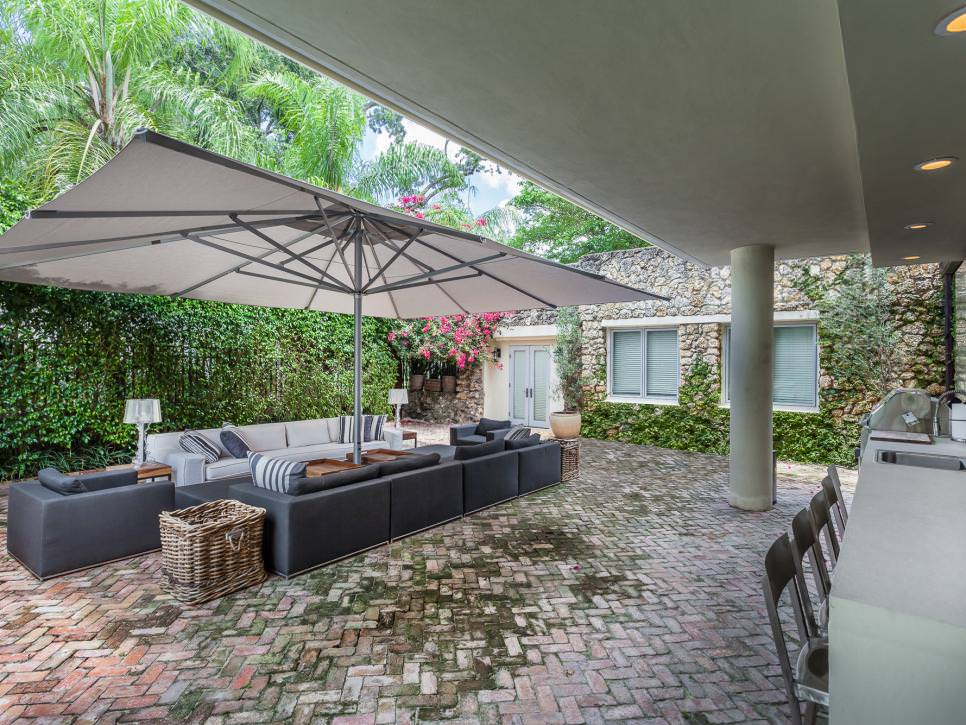 22+ Patio Cover Designs, Ideas, Plans | Design Trends ... on Courtyard Patio Ideas id=47451