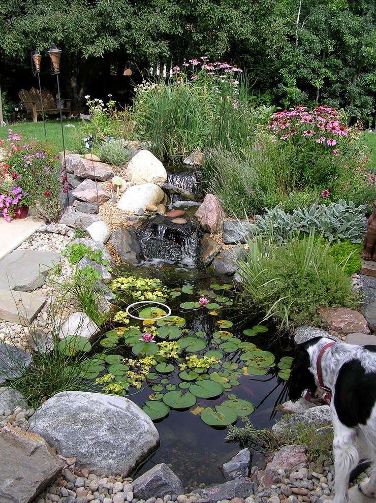25+ Backyard Pond Designs | Outdoor Designs | Design ... on Small Backyard Pond  id=14287