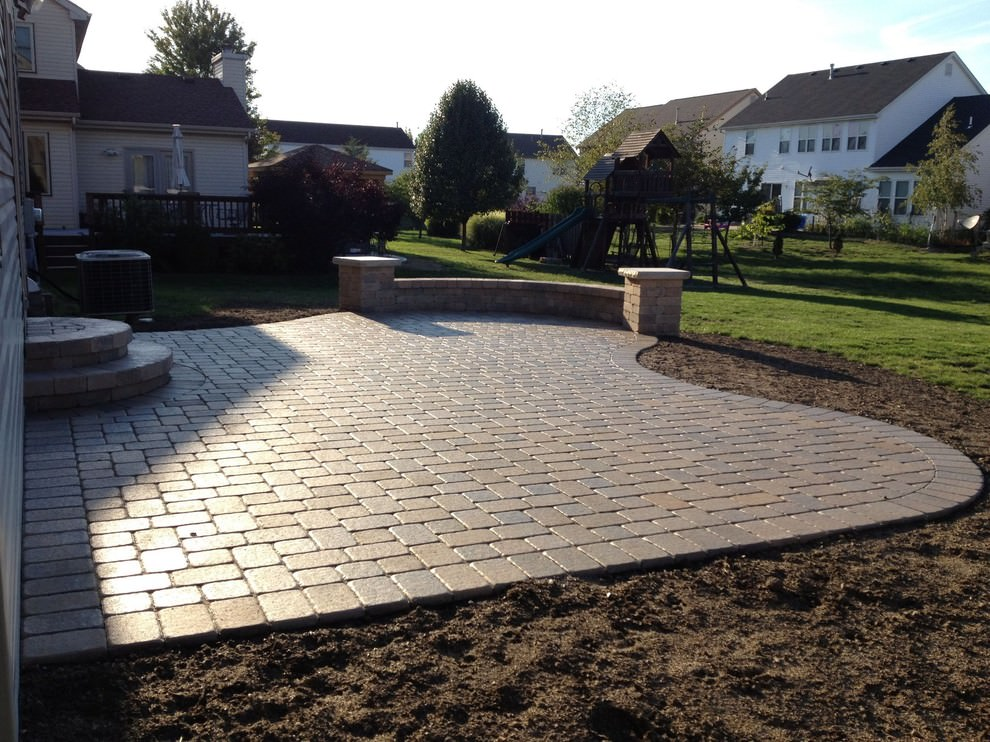 24+ Paver Patio Designs | Garden Designs | Design Trends ... on Yard Paver Ideas  id=36126