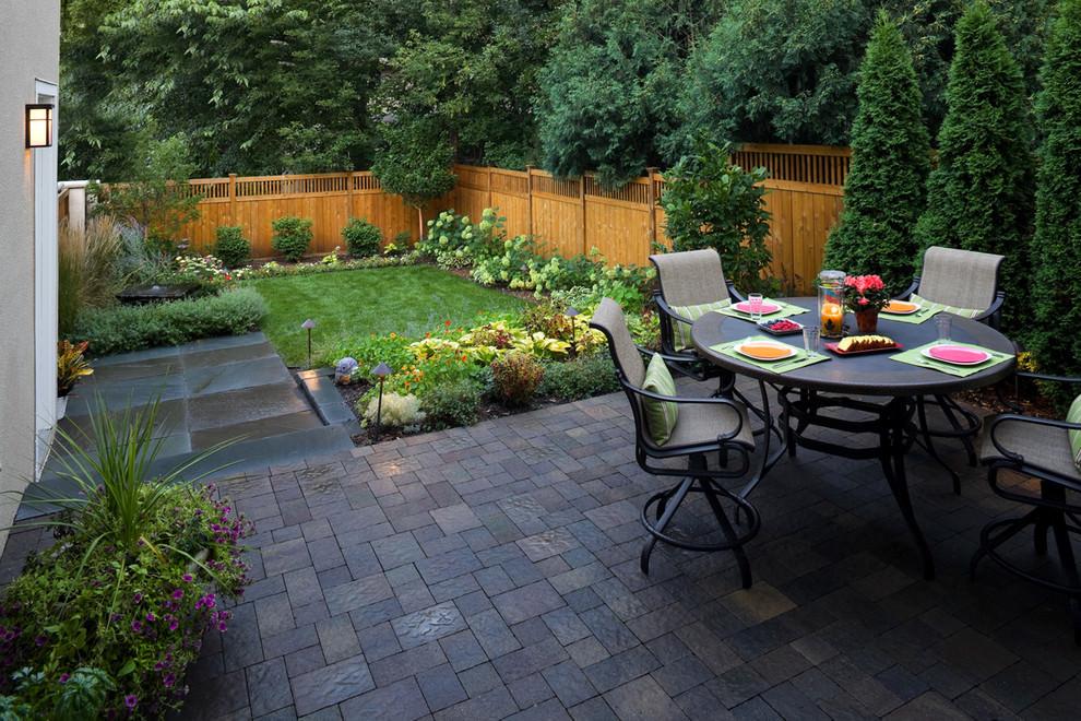 24+ Paver Patio Designs   Garden Designs   Design Trends ... on Small Paver Patio Designs id=13177