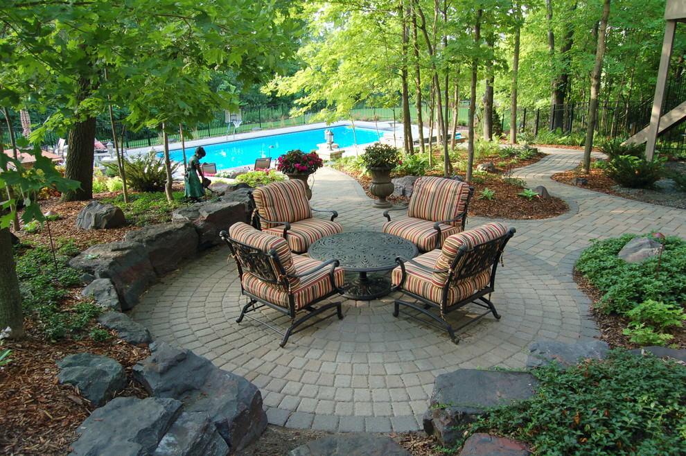 24+ Paver Patio Designs | Garden Designs | Design Trends ... on Backyard Paver Patio Designs id=94023