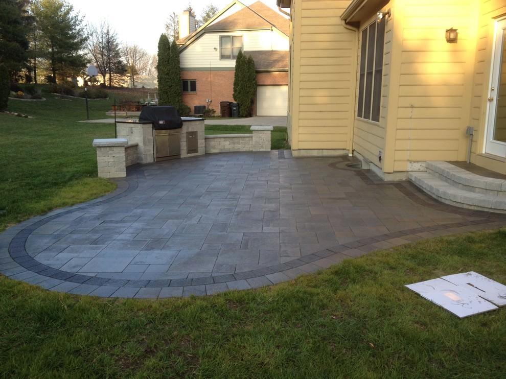 24+ Paver Patio Designs | Garden Designs | Design Trends ... on Brick Paver Patio Designs  id=27298