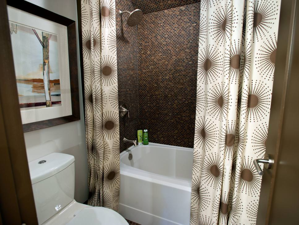 18+ Bathroom Curtain Designs, Decorating Ideas