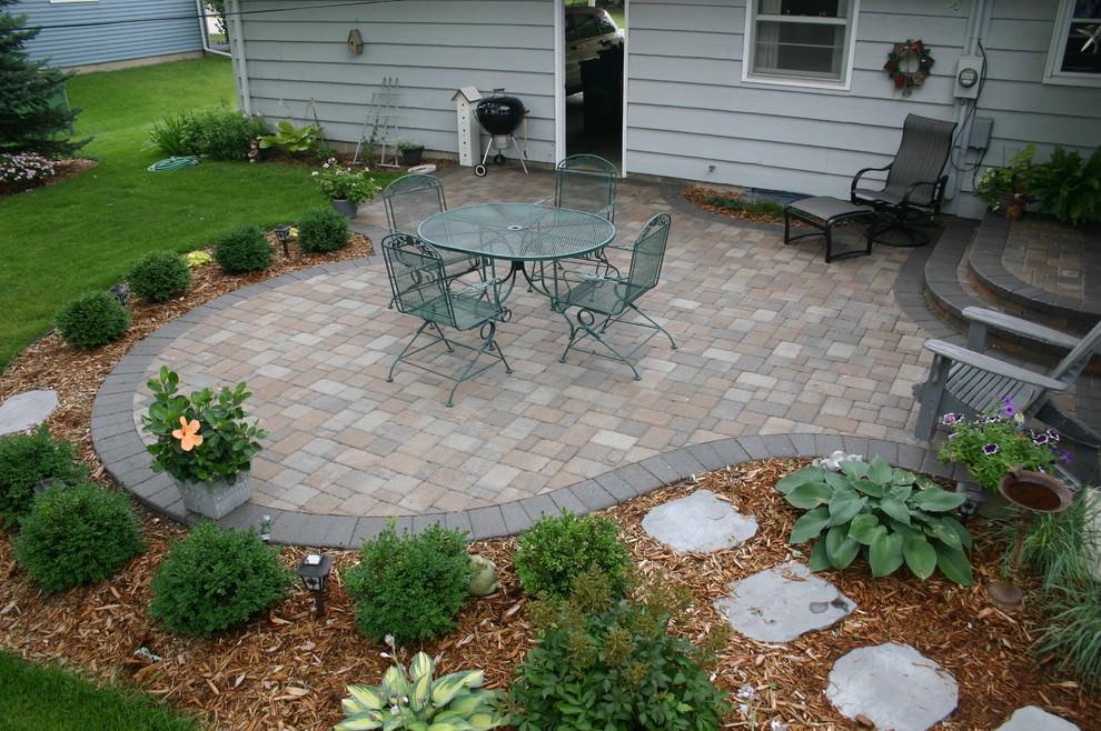 24+ Paver Patio Designs | Garden Designs | Design Trends ... on Brick Paver Patio Designs  id=88347