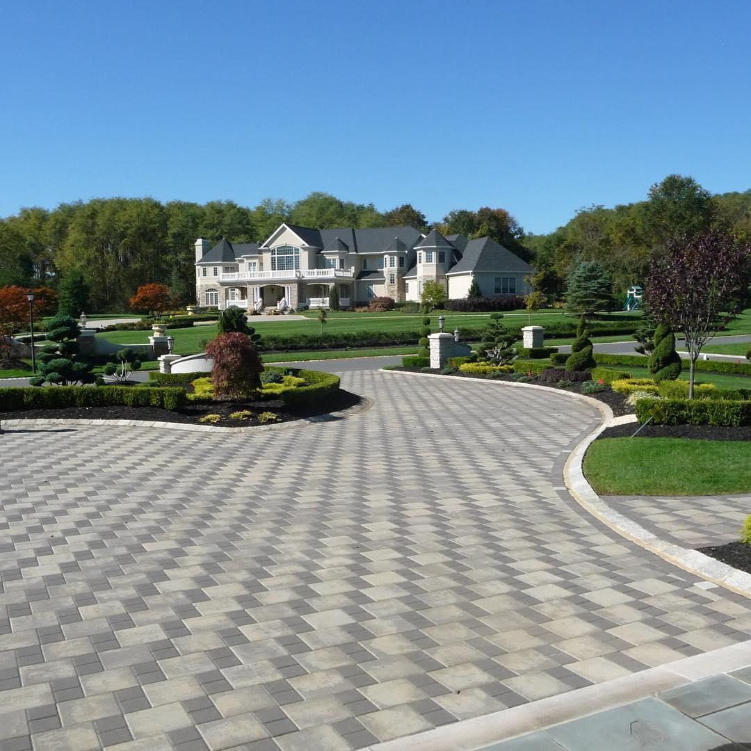 24+ Paver Patio Designs | Garden Designs | Design Trends ... on Brick Paver Patio Designs  id=66944