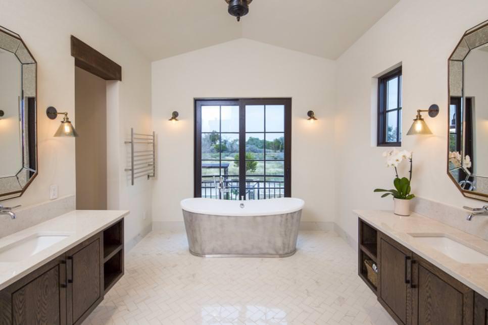 19+ Farmhouse Style Bathroom Designs, Decorating Ideas ... on Bathroom Ideas Modern Farmhouse  id=52093