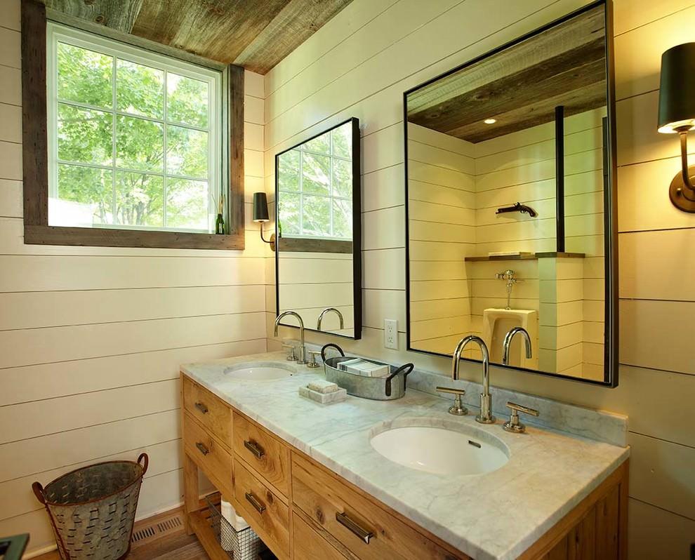 19 Farmhouse Style Bathroom Designs Decorating Ideas