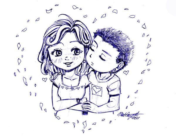 14+ Cute Love Drawing, Art Ideas, Sketches   Design Trends ...