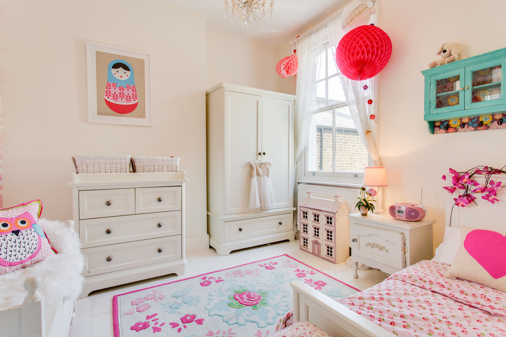 20+ Girly Bedroom Designs, Decorating Ideas | Design ... on Pretty Room Decor For Girl  id=92565