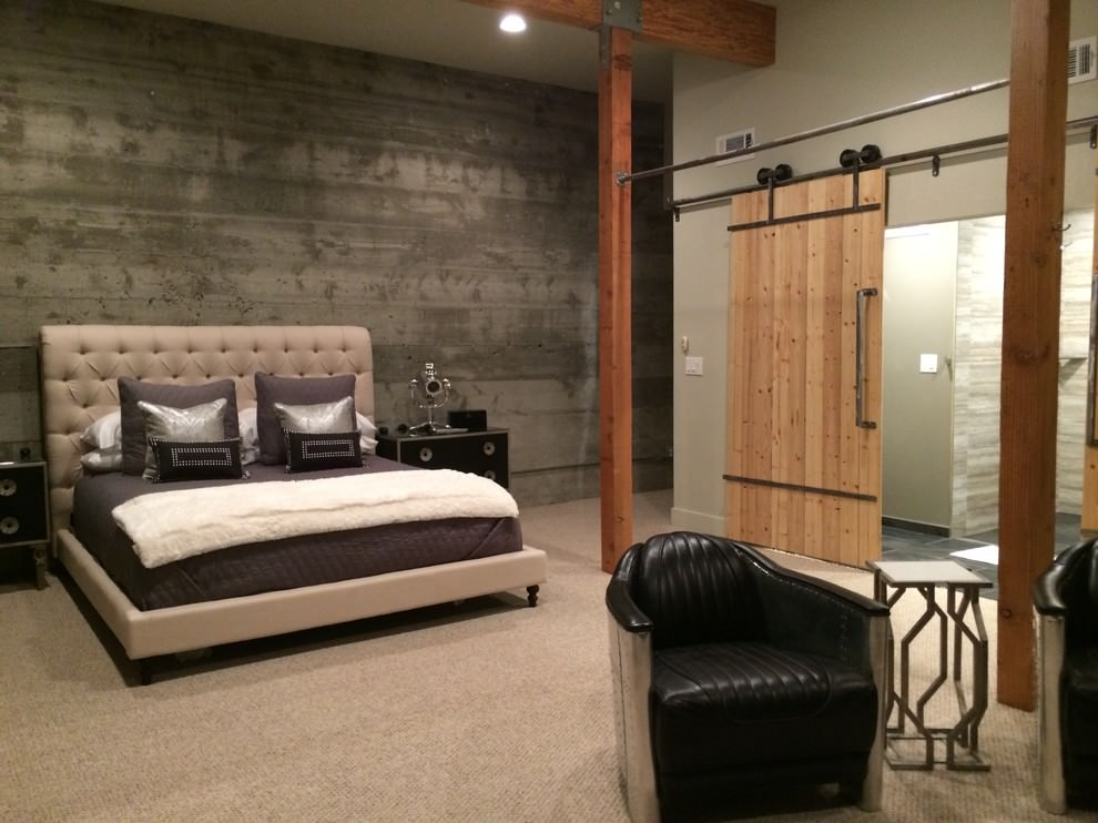 Totally chic and ultra modern, grey has become the decorating colour of the decade, especially in living rooms. 20+ Industrial Bedroom Designs, Decorating Ideas | Design