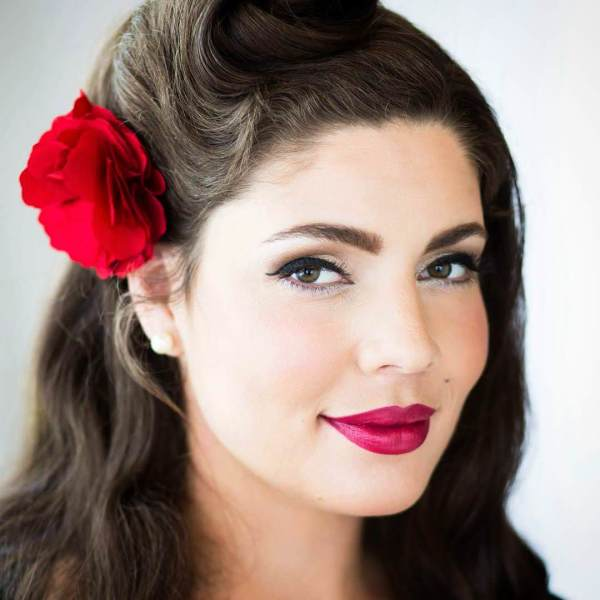 24+ Pin Up Hairstyle Designs, Ideas For Long Hair   Design ...