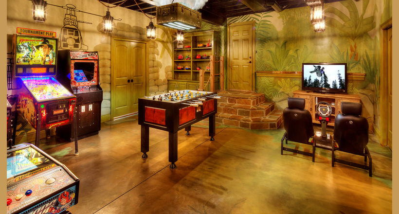 Gaming is a billion dollar industry, but you don't have to spend a penny to play some of the best games online. 23+ Game Room Designs, Decorating Ideas | Design Trends ...