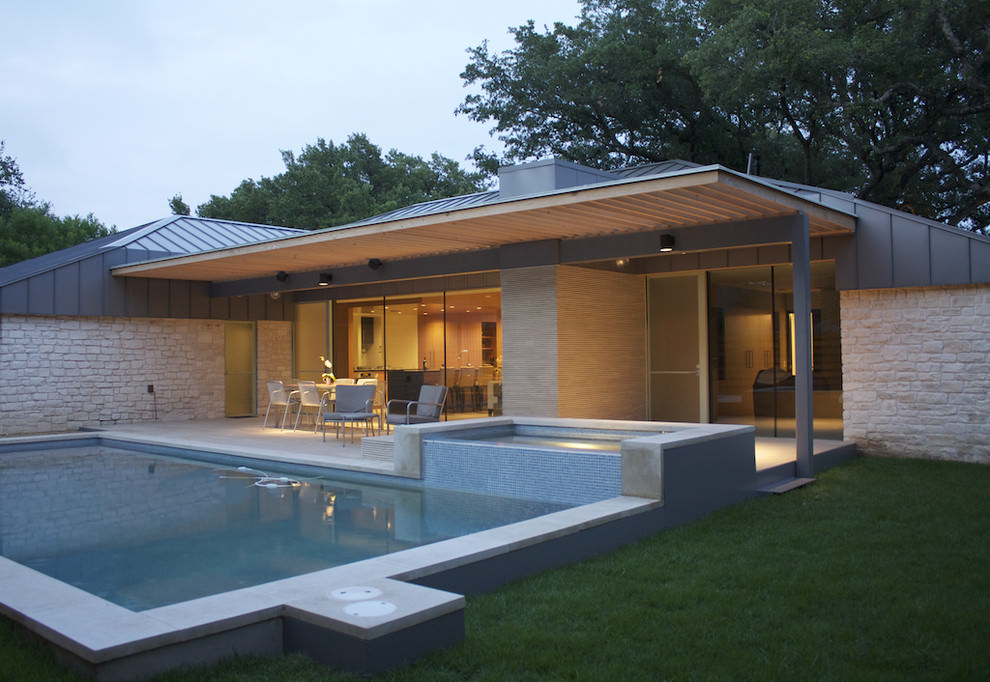24+ Patio Roof Designs, Ideas, Plans. | Design Trends ... on Side Patio Ideas id=92126