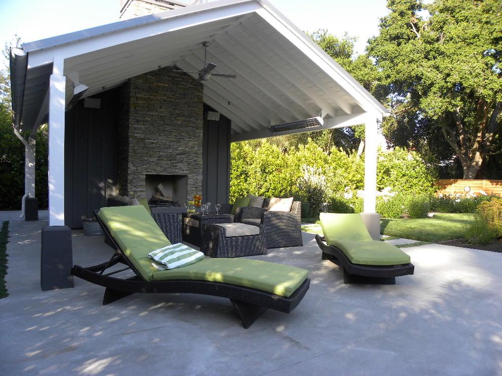 24+ Patio Roof Designs, Ideas, Plans.   Design Trends ... on Backyard Patio Extension Ideas id=34771
