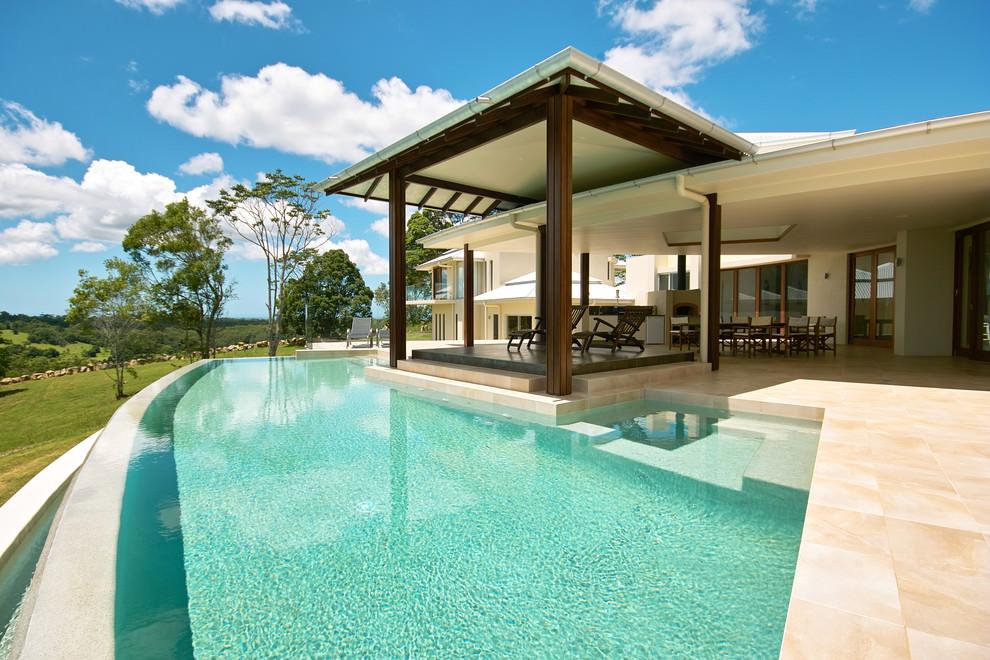 24+ Patio Roof Designs, Ideas, Plans.   Design Trends ... on Pool Patio Design id=17323
