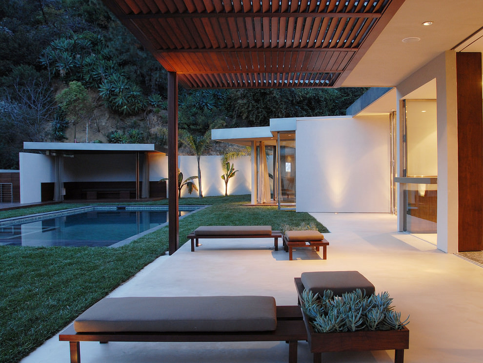 24+ Patio Roof Designs, Ideas, Plans. | Design Trends ... on Outdoor Deck Patio Ideas id=80138