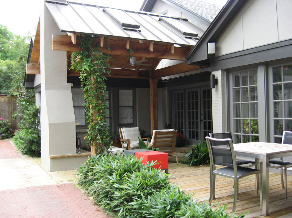 24+ Patio Roof Designs, Ideas, Plans. | Design Trends ... on Roof For Patio Ideas id=24516