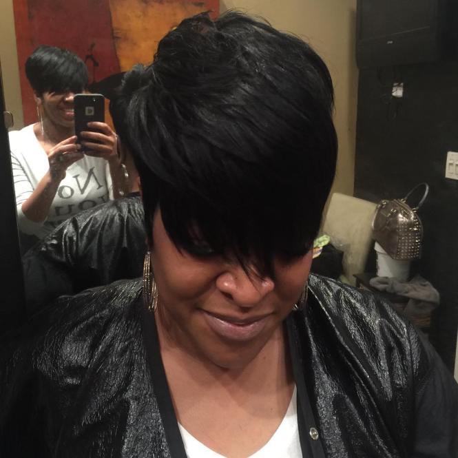 Women S Inverted Bob Haircuts Layered Haircuts For Black