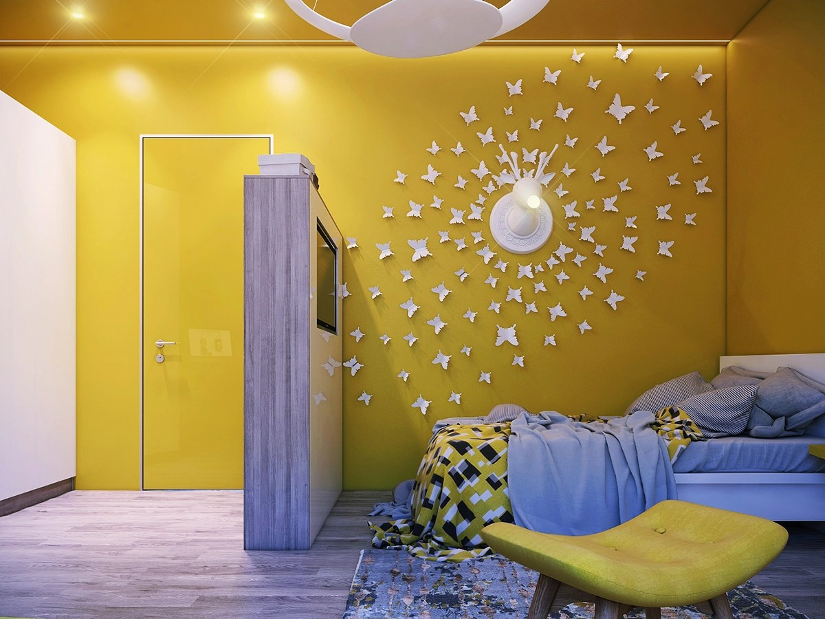 25+ Wall Mural Designs | Wall Designs | Design Trends ... on Creative Living Room Wall Decor Ideas  id=84665