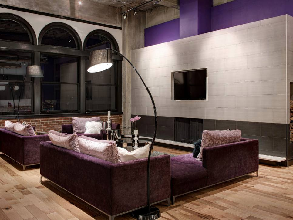 21 tile wall living room designs